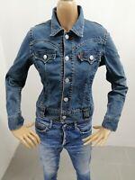 Giubbino LEVI'S Donna Taglia Size S Jacket Woman Veste Femme P7232