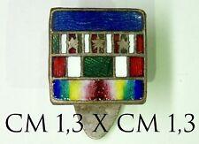 2613) Distintivo nastrini concedimenti medaglie miniati  1a Guerra Mondiale