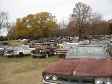 1950s 60s Salvage yard it's all there 8 x 10 Photograph