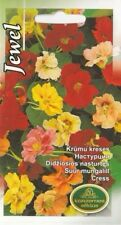 Flower Seeds Nasturtium Jawel For Bee Bedding Garden Pictorial Packet Mix UK