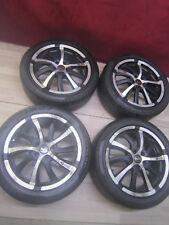 4x Alufelgen 17 Zoll Seat Toledo Leon 1M  / Audi A3 8L + Sommerreifen 225/45 R17