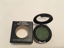 "MAC Eyeshadow ""HUMID"" Green Discontinued Swatched HTF Rare Frost"