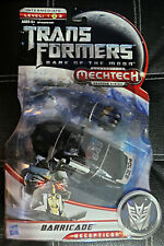 2011 Hasbro Transformers Movie Dark of The Moon Deluxe Barricade Mechtech NY