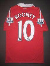 2010-2011 Authentic Nike Manchester United Wayne Rooney Jersey Shirt Kit England