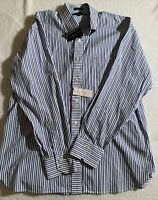 NWT TOMMY HILFIGER BUTTON-UP SHIRT~MEN'S SIZE LARGE