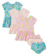 Wonder Nation Baby Girl's Knit Dress w/ Underwear size 3-Pack size 12M