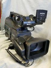 Sony HVR-HD1000U High Definition HDV DV 20x Digital Zoom Professional Camcorder