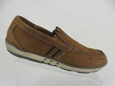 CLARKS Unstructured Brown Sz 10 W Wide Men Un.Phenom Brown Gore Casual Loafers