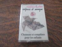 cassette audio cadocreche enfance et musique