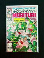 STRIKEFORCE: MORITURI #30 MARVEL COMICS 1989 NM+