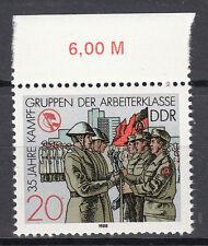 DDR 1988 Mi. Nr. 3180 mit Oberrand Postfrisch (25368)