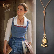 Vogue Beauty and the Beast Belle Princess Wrap Lariat Choker Cosplay Necklace