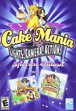 Cake Mania - Lights, Camera, Action! Casual PC Game NIP