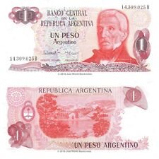 Argentina 1 Peso ND (1983-84) P-311 Banknotes  UNC