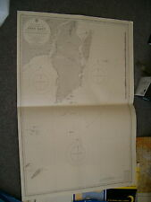 Vintage Admiralty Chart 3017 Borneo - Approaches To Pulo Laut 1925 edn