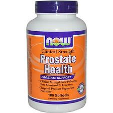 Prostate Health - 180 Softgels by Now Foods - Clinical Strength Prostate Support