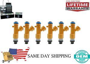 X6 OEM DENSO  Fuel Injectors INFINITI G37 2008 - 2013 3.7L