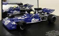 Quartzo 1/43 escala QFC023 Tyrrell 001 EE. UU. GP 1971 Peter Revson Diecast F1 coche