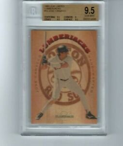 1995 LEAF LIMITED LUMBERJACKS #12 JOSE CANSECO #0614/5000 BGS 9.5 GEM MINT