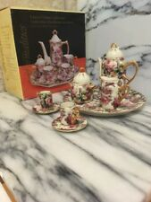 Formalities Mini Tea Set By Baum Bros Laura Chintz Collection