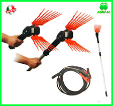Raccogli olive Abbacchiatore Scuotitore elettrico a batteria  su asta 150 - 250