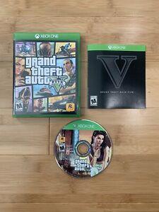 Grand Theft Auto 5 V GTA (Xbox One, 2014) Video Game - Ships Same Day