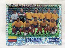 figurina USA 94 SERVICE LINE NUMERO 39 COLOMBIA SQUADRA