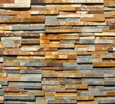 Splitface Multicolour Slate Mosaic Tiles Sample