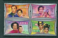 Hong Kong 2001 Hong Kong Film Stars block of 4 unmounted mint.