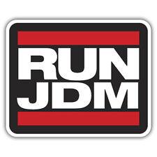 RUN JDM sticker 100 x 80mm jdm honda civic accord nissan