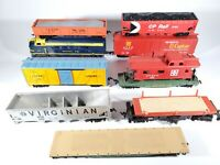 Vintage Tyco Life Like Model Train Lot Engine & Rolling Stock Parts/Restore