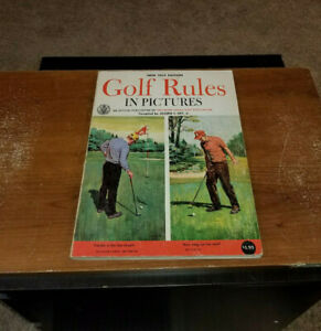 1969 GOLF RULES IN PICTURES BY JOSEPH C. DEY JR. BOOK
