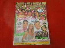 Vintage Pop Teen Rock Magazine Blast June 2000 'N Sync Britney Spears G5