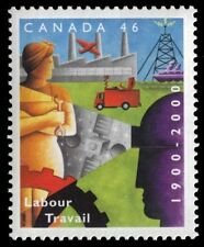 CANADA 1866 - Department of Labour 100th Anniversary (pa36918)