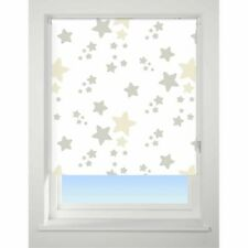 Twinkle/Star Neutral Blackout Roller Blind 60cm Wide X 170cm Drop Child Safe