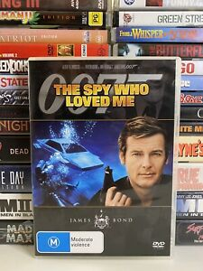 THE SPY WHO LOVED ME (1977) DVD CULT ACTION ROGER MOORE JAMES BOND R4
