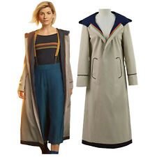 13th Doctor Who Jodie Whittaker Trench Coat With Free Shipping