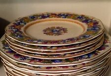 "Crown Ducal  Florentine   Luncheon  plate   9 "" 1954"