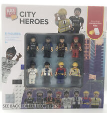 BLOCK TECH 8 CITY HEROS - Works with other Construction Kits NEW!
