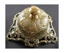 Upper Deck Ornate Solid Brass Hotel Counter Bell