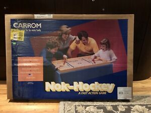 0043077000023 Carrom Nok-hockey New Sealed Storage Wear On Box