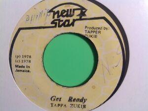 NEW STAR GET READY / VERSION TAPPA ZUKIE 45