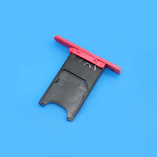 New SIM Card Holder Slot Tray Cover Replacement Parts For  Nokia Lumia 800 Red