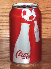 NM SUMMER 2010 USA FULL w/CONTENTS COCA-COLA BOTTLE SOCCER BALL 12oz 355mL CAN