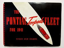 RARE 1941 PONTIAC TORPEDO FLEET Dealer Sales Album Stewart Motors Charleston WV