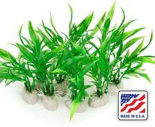 Artificial Green Aquarium Plants Fish Tank Decorations Home Plastic Grass