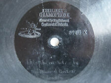 """78rpm E. BERLINER GRAMOPHONE 7""""- BIG GUNS by THE MUSICAL AVOLOS (XYLOPHONE SOLO)"""