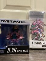 Blizzard D.Va XL FIGPIN & MEKA Overwatch Blizzcon Figure Cute But Deadly ✅FAST✅