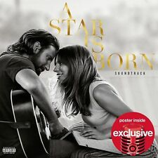 Lady Gaga SEALED A Star Is Born Soundtrack CD TARGET LIMITED BONUS POSTER