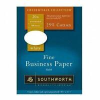 "Southworth Red Ruled Business Paper - For Inkjet, Laser Print - Letter - 8.50"" X"